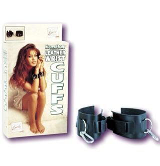 Super Strap Leather Wrist Cuffs