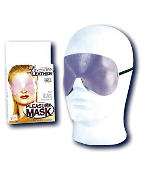Lavender Leather Pleasure Mask