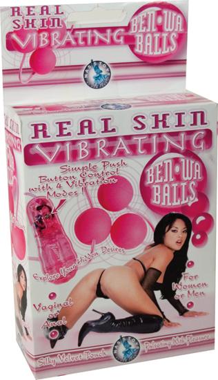 Real Skin Vibrating Benwa Balls