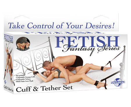 Fetish Cuff & Tether Set