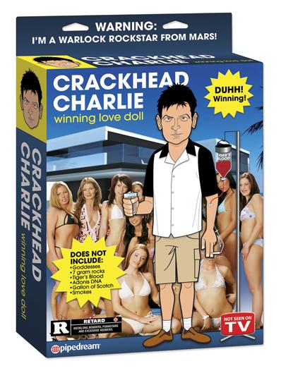 Crackhead Charlie Doll