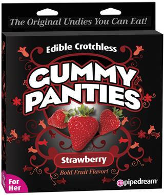 Edible Gummy Panty Strawberry