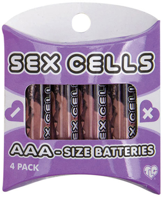 Sex Cells 4 Batteries Pack