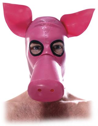 Lil Pink Piggy Hood