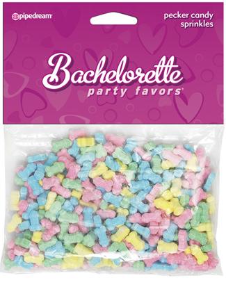 Colorful Pecker Sprinkles