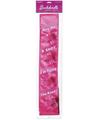 Buy Me Shot Glass Sash