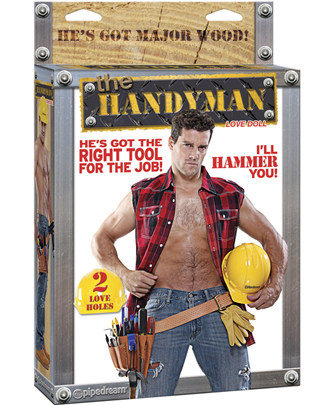 Handyman Dual Hole Doll