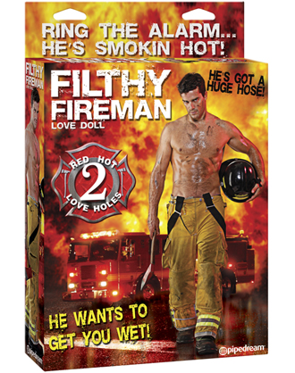 Sexy Fireman Love Doll