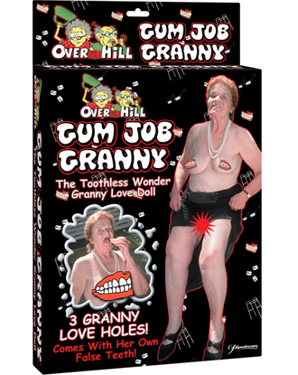 Toothless Job Granny Doll
