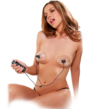 Fetish Spinning Nipple Stimulators