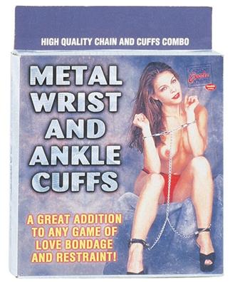Metal Wrist Ankle Cuffs