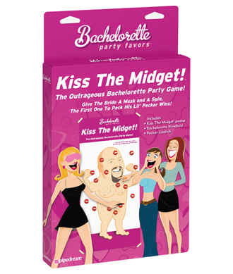 Kiss The Midget Game