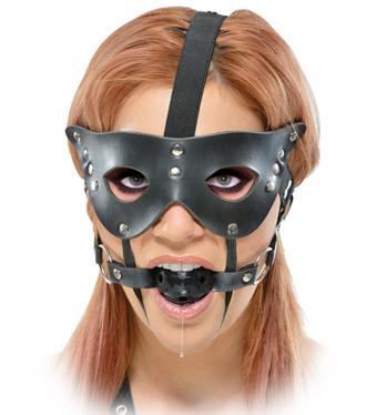 Masquerade Mask and Ball Gag