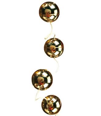 Gold Vibro Balls 4PC