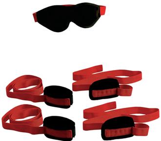Red Lover's Restraint Kit