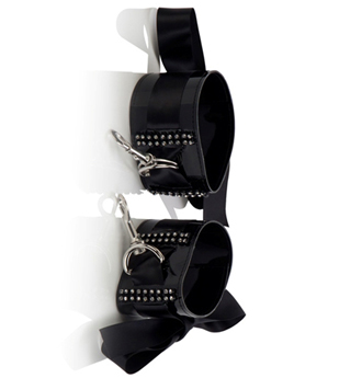 Diamond Ribbon Wrist Cuffs