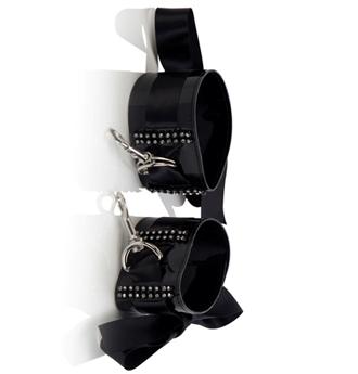 Diamond Ribbon Wrist Cuffs