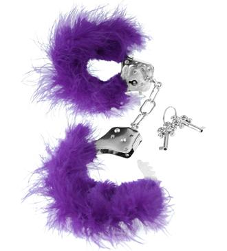 Purple Feather Love Cuffs