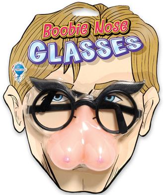 Boob Nose & Glasses