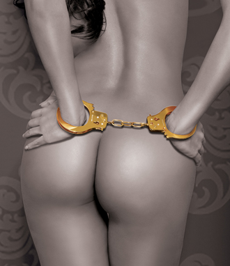 Fantasy Gold Metal Cuffs