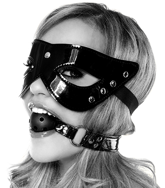 Limited Masquerade Mask and Gag