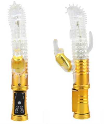 12 Speed Triple Rabbit Vibrator