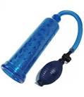 Male Blue Power Pump