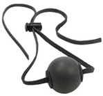 Ball Gag with sturdy leather adjustable strap