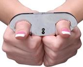 Metal Thumb Cuffs