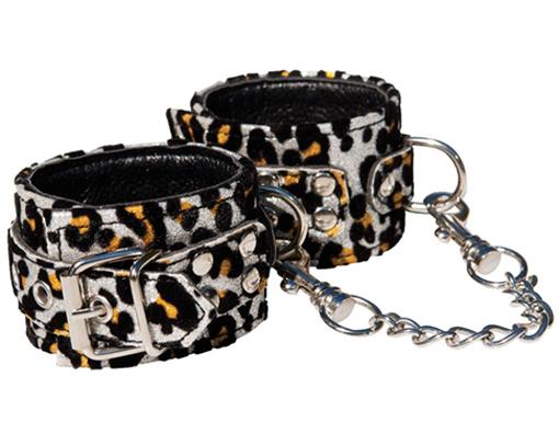Printed Leopard Cuffs