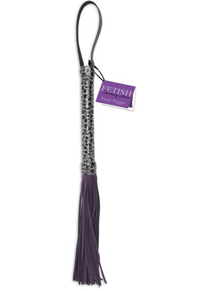 Fancy Purple Flogger
