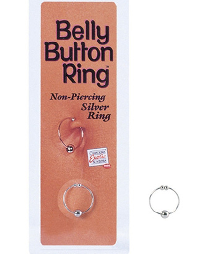 Belly Button Ring Silver