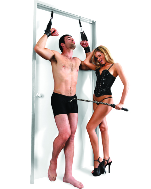 Fetish Deluxe Door Cuffs