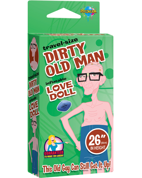 Compact Old Man Doll