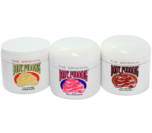 Body Pudding Lubricant 3-Pack Gift Set 2oz