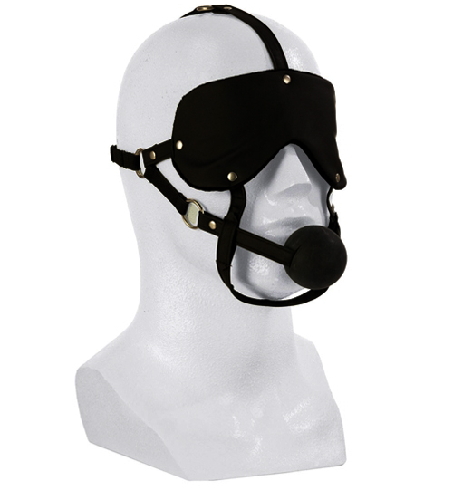Eye Mask and Ball Gag