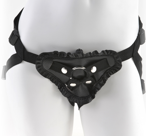 Fantasy Leather Lover's Harness