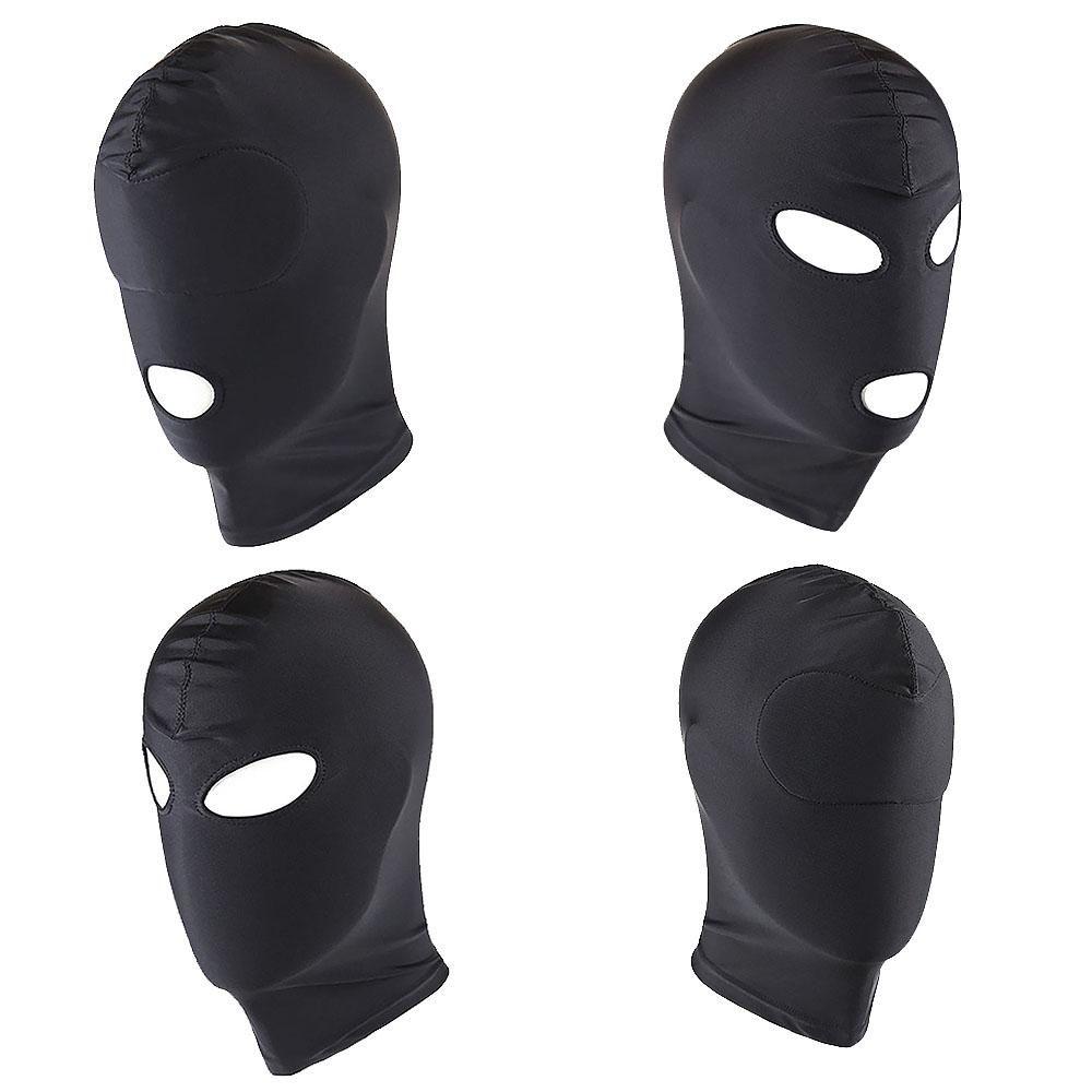 4 Style Stretchy Breathable Sponge Fetish Mask